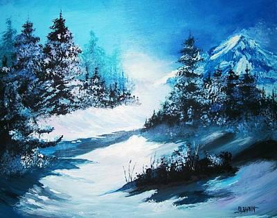 Wonders Of Winter Print by Al Brown