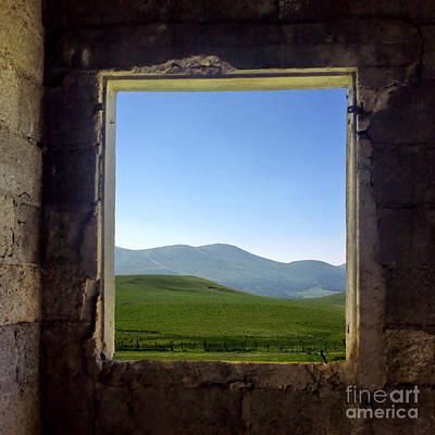 Of Windows Photograph - Wondow by Bernard Jaubert