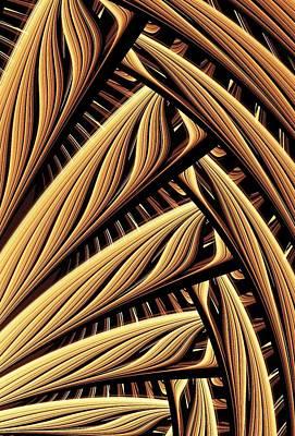 Wood Weaving Print by Anastasiya Malakhova