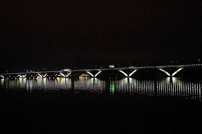 Washingtondc Photograph - Woodrow Wilson Bridge - Washington Dc - 011346 by DC Photographer