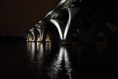 Dc Photograph - Woodrow Wilson Bridge - Washington Dc - 011370 by DC Photographer