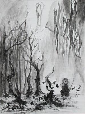Woods Got Imps Print by Christophe Ennis