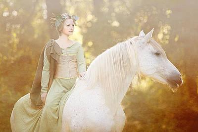 Mixed Media - Woods Of Narnia by Pamela Hagedoorn