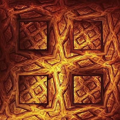Woodwork Print by Anastasiya Malakhova