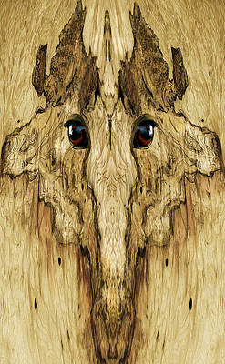 Wood Photograph - Woody 42 by Rick Mosher