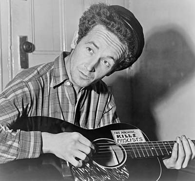 Woody Guthrie Photograph - Woody Guthrie by Mountain Dreams