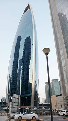 Qatar Photograph - Woqod Tower by Bob Edwards