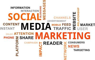 Word Cloud - Social Media Marketing Original by Amir Zukanovic
