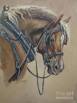 Work Horse Print by Callie Smith