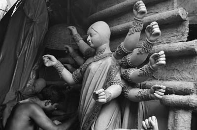 Goddess Durga Photograph - Work Of Art by Atin Saha