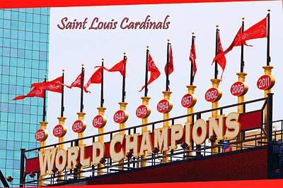 World Champions Flags Original by John Freidenberg