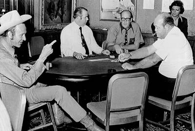 World Series Of Poker Print by Underwood Archives
