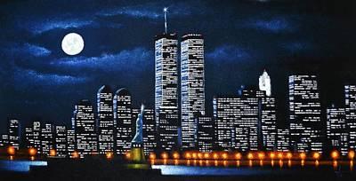 World Trade Center Buildings Original by Thomas Kolendra