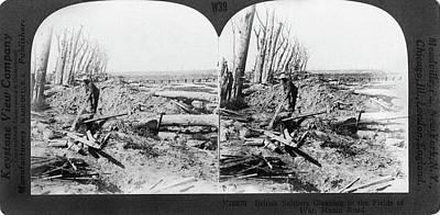 World War I Menin Road Print by Granger
