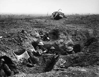World War I Ypres, 1917 Print by Granger