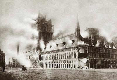 World War I Ypres Print by Granger