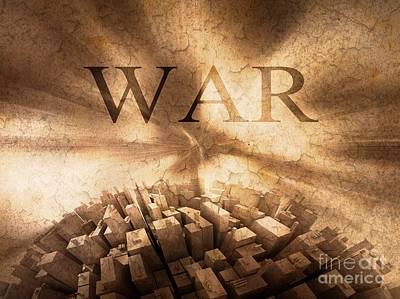 September 11 2012 Painting - World War  by Stefano Senise