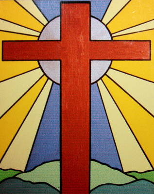Catherdral Painting - Worship The Lord by Jean Walker