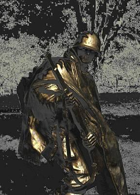 Poncho Digital Art - Worth Their Weight In Gold by Natalie Ortiz