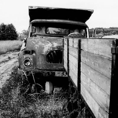 Photograph - wreck I   by Mariusz Zawadzki