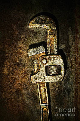 Hardware Photograph - Wrench by HD Connelly