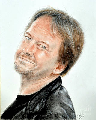 Wrestling Legend Roddy Piper Print by Jim Fitzpatrick