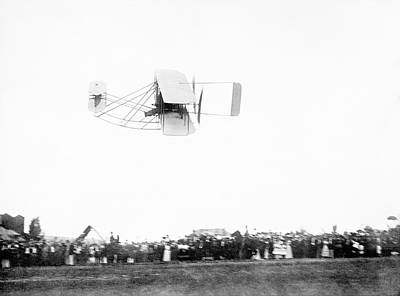 Airfield Photograph - Wright Model A Airplane by Library Of Congress