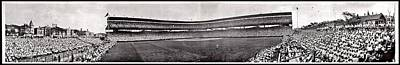 Historic Chicago Photograph - Wrigley Field 1929 Panorama by Benjamin Yeager