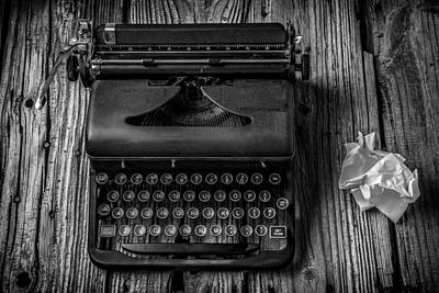 Typewriter Photograph - Write Me by Garry Gay