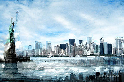 Wrong Expectations New York City Usa Print by Sabine Jacobs
