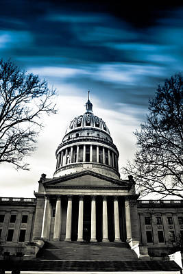 Wv State Capitol Building Print by Shane Holsclaw