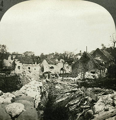 Wwi Ypres, C1916 Print by Granger