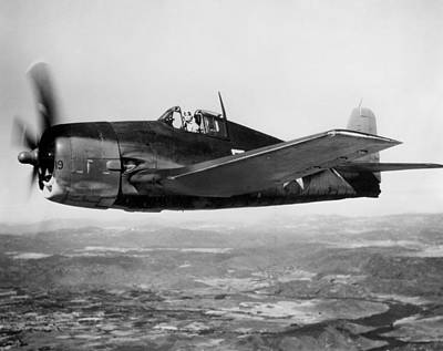 F6f Photograph - Wwii: Us Navy Hellcat 1943 by Granger