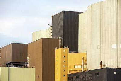 Wylfa Nuclear Power Station Print by Ashley Cooper