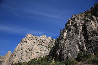 Thermopolis Photograph - Wyoming Mountain Peaks by Frank Romeo