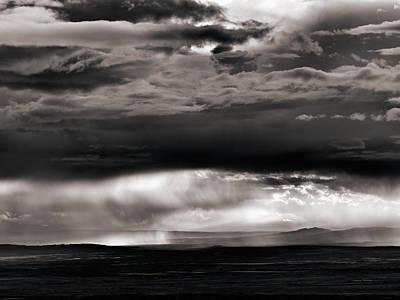 Wyoming Storm Drama Print by Leland D Howard