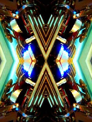 Socal Mixed Media - X Factor by Rom Galicia