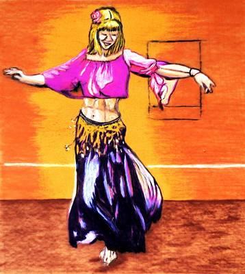 Gaynor Mixed Media - Xenia Dance 2 by Ayasha Loya Aka Pari  Dominic