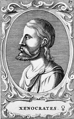 Xenocrates Print by National Library Of Medicine