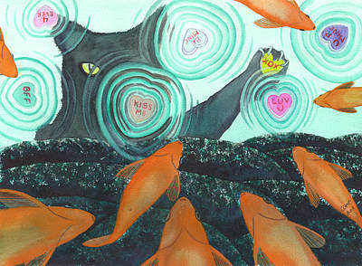 XOX Print by Catherine G McElroy