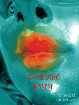 Xxooxxo Kisses Original by ARTography by Pamela Smale Williams