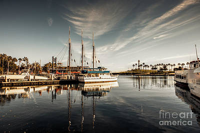 Photograph - Yacht At The Pier On A Sunny Day by Sviatlana Kandybovich