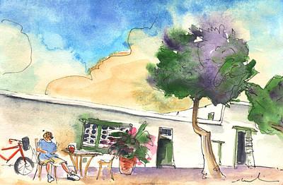 Lanzarote Painting - Yaiza 01 by Miki De Goodaboom