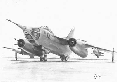 Yak Drawing - Yak 28 by Ian Johnson
