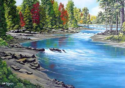 Yakima River Print by Bob Patterson