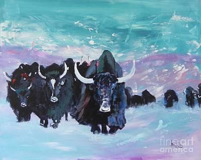 Yaks Original by Jolanta Shiloni