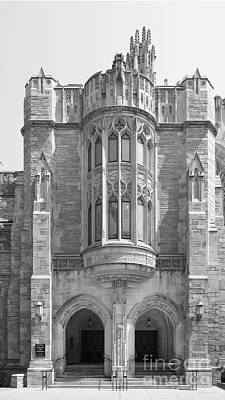 Yale University Sterling Law Building Print by University Icons