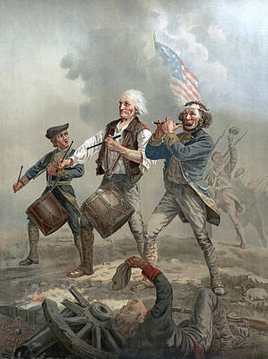 Yankees Painting - Yankee Doodle, 1776 by Granger