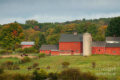 Yankee Farmlands No 14 Print by JG Coleman