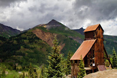 Yankee Girl Mine 2 Print by Lana Trussell